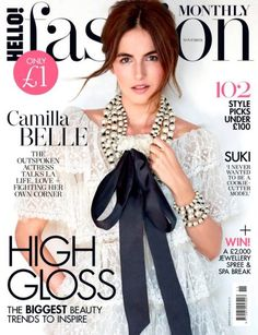 Camilla Belle on Hello! Fashion November 2016 Cover