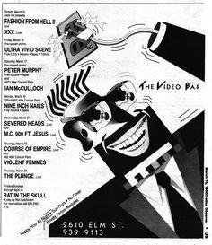 The Video Bar in Deep Ellum