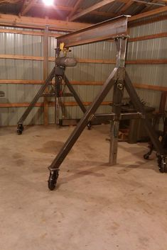 Kinda cool but needs to be so that it can be stored easily and within a relatively small space. Engineering a Gantry Crane