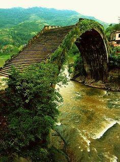 Moon Bridge, Hunan, China