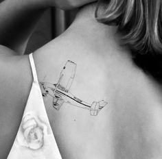 A tattoo that really inspires me! #Tattoo #Fly #away #Cessna #182