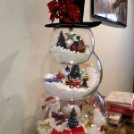 Fish Bowl Snowman Craft