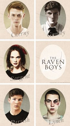 The Raven Cycle Characters: [Part 1 of 3]