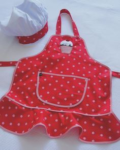 Kit Avental Infantil Menina Cupcake com Chapéu de Cozinheia - Casa com Grife