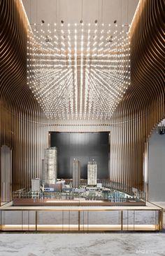 壹舍设计-方磊设计师事务所 重庆新华协信中心售楼处