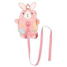 Safe Baby Harness Toddler Kids Safety Child Pink Rabbit Back Pack Strap Rein Bag Baby Harness, Kids Safety, Pink Rabbit, Bags For Sale Online, Baby Safe, Kids Girls, Pikachu, Packing, Backpacks
