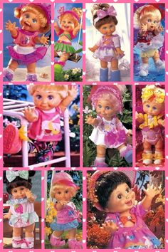 Galoob Baby Face Dolls