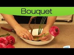 Cours 1 d'art floral gratuit.Débutant.Tuto art décoration: comment réaliser une composition simple. - YouTube