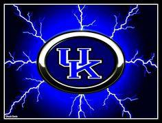 Kentucky Wildcats Football, Wildcats Basketball, Kentucky Basketball, University Of Kentucky, Symbol Drawing, Writing Tattoos, Sport Craft, Go Big Blue, My Old Kentucky Home