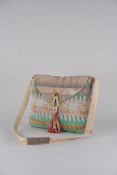 Envelope Kantha Shoulder Bag
