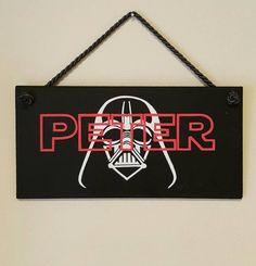 Kids Door Signs Personalised Star Wars Themed Bedroom ...
