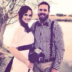 The wedding couple!
