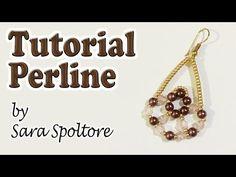 Tutorial orecchini con perline per principianti - Come fare orecchini fai da te facili - YouTube