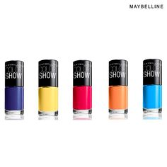 6-Pack: Maybelline Color Show Nail Polishes - 0.23oz - Mystery Colors If you