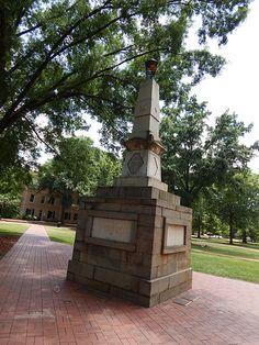 Maxcy Monument on The Horseshoe- University of South Carolina