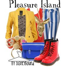 """""""Pleasure Island"""" by lalakay on Polyvore"""