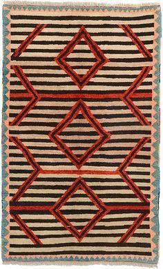 Beige 5' 2 x 8' 4 Shiraz-Gabbeh Rug | Persian Rugs | eSaleRugs