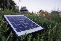 Solarlicht im Garten ist umweltschonend und effizient.
