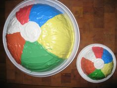 Beach Ball Party Cake!