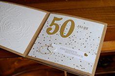 Karte zum 50. Hochzeitstag