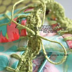 Pillowcase Crochet Edge Tute