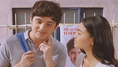 Remember when he pulled the classic kiss-me-on-the-cheek move? | News Flash: James Reid Is Pogi AF