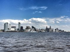 "Liverpool from the ""ferry across the Mersey"" By Maz Baker"
