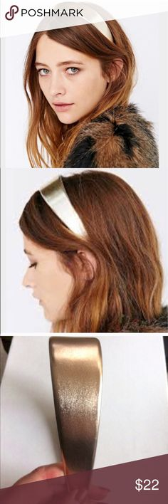 ❗️1 LEFT Urban Outfitters Metallic Headband ❗️1 LEFT Urban Outfitters Metallic Headband NWOT. Feel free to make an offer! I'm giving to the first reasonable offer I receive & give great bundle deals! Moving Clearout Sale--all must go! ;-) Urban Outfitters Accessories Hair Accessories