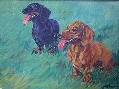 Animals by Kathleen (Kay) Irene Nixon (1895-1988)