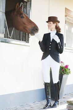 That Dominant Look Photo Equestrienne Reiterinnen