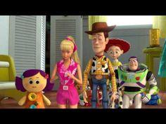 """""""Toy Story Toons"""" Español: los jugetes se van de vacaciones, en Hawaii!"""