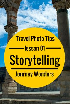 Travel Photography Tips #01: Action & Storytelling