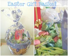 Interesting easter gift basket ideas hippity hop down the bunny easter gift basket last minute easy and cute idea negle Gallery