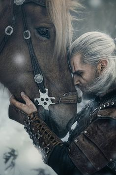 Geralt and Roach by DiteVlk on DeviantArt
