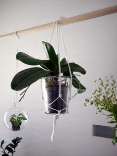 diy floral hanging