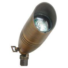 Best Quality Lighting 1-Light Antique Bronze Die Cast Brass Up Light