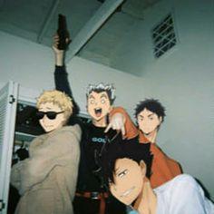 Anime Meme, Funny Anime Pics, Cute Anime Guys, Haikyuu Funny, Haikyuu Fanart, Haikyuu Anime, Animes Yandere, Fanarts Anime, Memes Pt