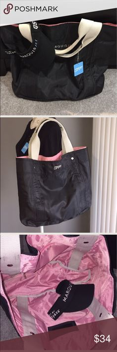 09ede56c49 High Performance Nylon TOTE BAG. NWT REVERSIBLE High Performance Nylon TOTE  BAG. NWT
