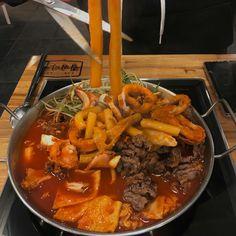❣︎「@kimmiecla✌︎」❣︎ Asian Recipes, Real Food Recipes, Cooking Recipes, Cute Food, Good Food, Yummy Food, K Food, Food Porn, Food Goals