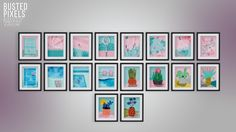 Wacka Society6 Framed Prints G'day, here is a collection of Art Prints from the gorgeous Artist Wacka • Non Default • 18 Variations • Custom Thumbs • Play Tested If you have any problems let me...