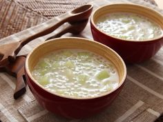 Melon coconut sago [traditional Chinese dessert recipes]
