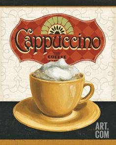Coffee Moment I Art Print by Lisa Audit at Art.com