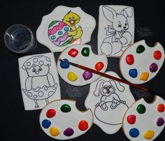 """Have fun with """"Paint your Own Cookie"""""""