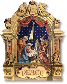 Baroque Miniature Nativity 1 & 2 Collection Combo - PaperModelKiosk.com http://www.papermodelkiosk.com/shop/item-detail.php?item_id=651_id=125#item