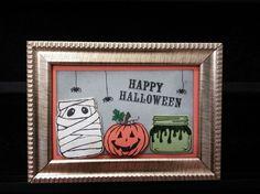 Jar of Haunts Halloween Frame