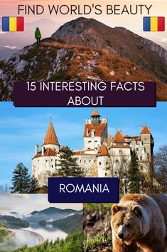 15 highly interesting facts about Romania to inspire a visit to this lesser-known destination. Nature, history, and communist reminders, Romania has it all. Travel Around Europe, Europe Travel Tips, Travel Goals, Travel Destinations, Romania Facts, Europe On A Budget, Germany And Italy, Cultural Experience, Backpacking Europe