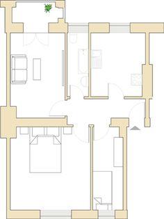 Leerstehende 3-Zimmer-Wohnung in Berlin Neukölln