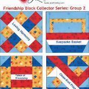 Friendship Block Collector Series: Set 2 - via @Craftsy