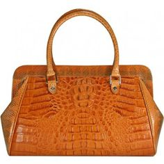 Exotica Women's Real Alligator Handmade Handbag Purse Duffle Bag - Genuine Alligator and Sea Snake Leather Duffle Bag http://www.amazon.com/dp/B00EWJKRGC/?tag=pinterest0e50-20