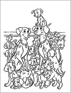 101 Dalmatians Coloring Page 38 Is A From BookLet Your Children Express Their Imagination When They Color The